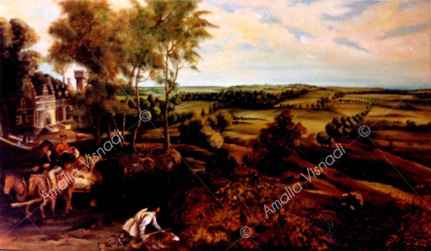 Copia da Rubens_Olio su tela 120 x 80