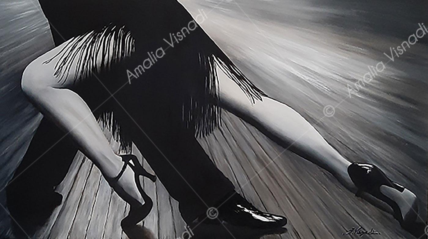 Passion tango_Olio su tela 88x50